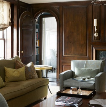 Case classiche di lusso arredate con un arredo realizzato su misura e ...