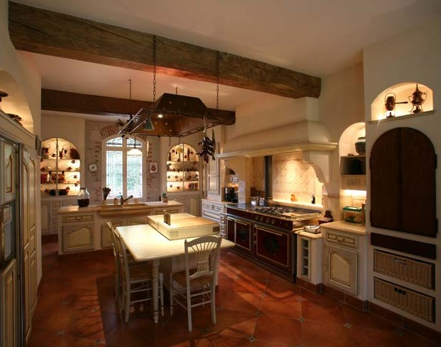 Cucine artigianali su misura for Interni case rustiche
