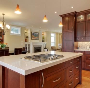 Cucine artigianali su misura for Case eleganti interni