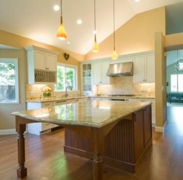 Cucine con isola su misura realizziamo cucine con isola di qualit su arredare su misura - Artigiani cucine ...