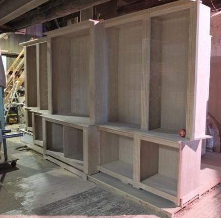 Librerie su misura in legno for Fabbrica mobili