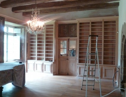 librerie legno milano