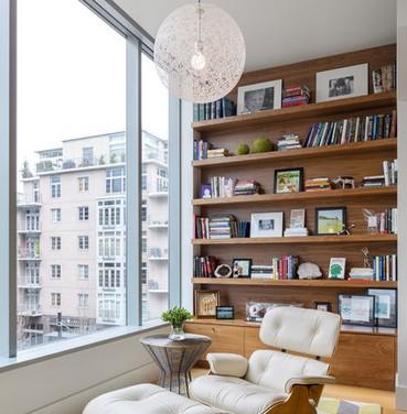 Librerie su misura in legno - Libreria a parete ...
