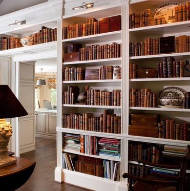 Librerie su misura in legno for Pareti per dividere una stanza