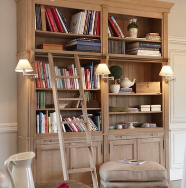 librerie in legno classiche