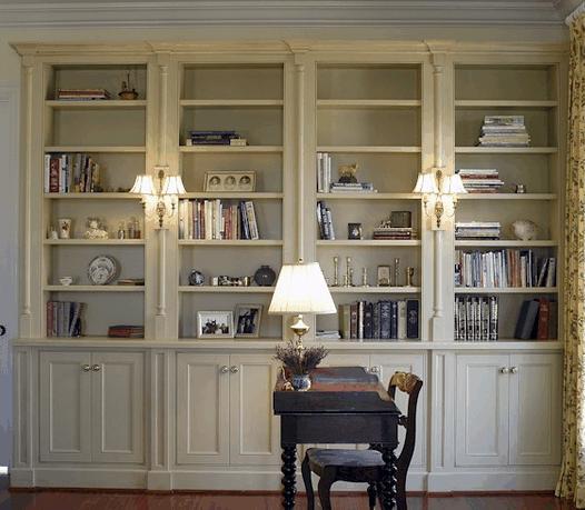 Librerie su misura in legno - Librerie da camera ...