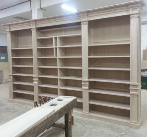 falegnameria librerie in legno Firenze