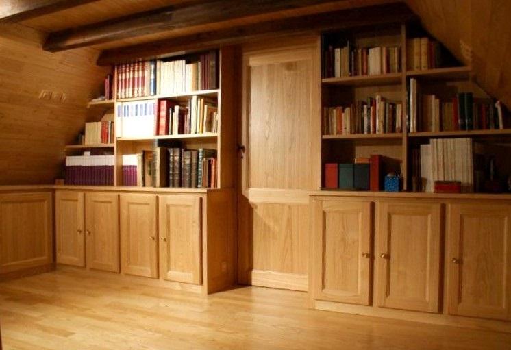 Mobili su misura arredamenti su misura di qualit arredamenti in legno firenze - Mobili su misura mansarda ...