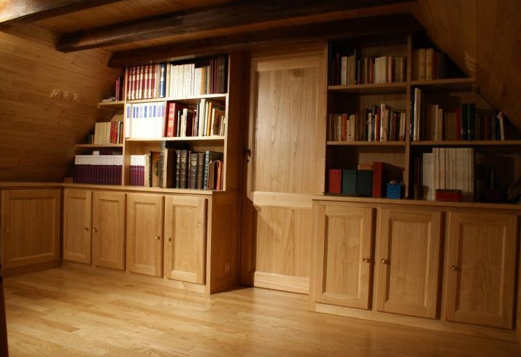 Libreria per mansarda Padova