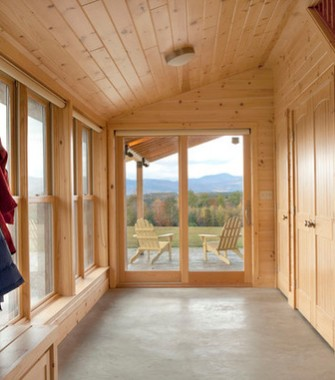 rivestimenti in legno casa di montagna