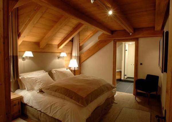 Arredo case montagna - Camere da letto in legno rustico ...