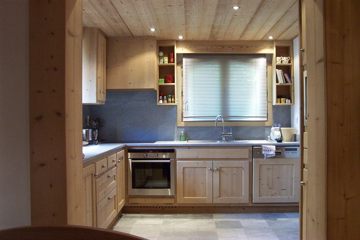 cucine su misura per case montagna