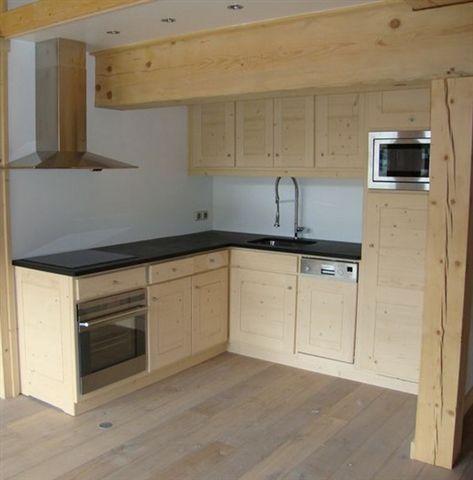Arredo case montagna for Piani di casa rustici con soppalco