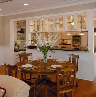 pareti divisorie cucina soggiorno
