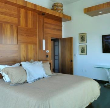 Pareti in legno - Rivestimento parete camera da letto ...