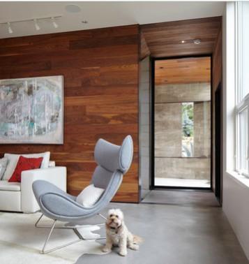 Pareti in legno - Parete divisoria in legno per interni ...