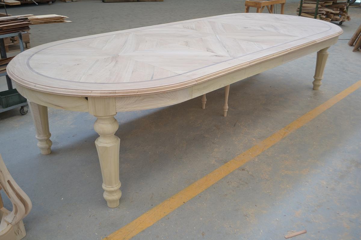 tavoli artigianali in legno su misura