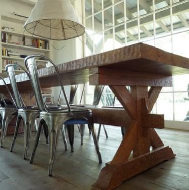 Tavoli massicci legno rustici for Tavolo rustico legno