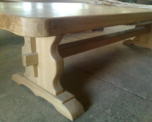 Tavoli su misura - Tavoli rustici in legno ...