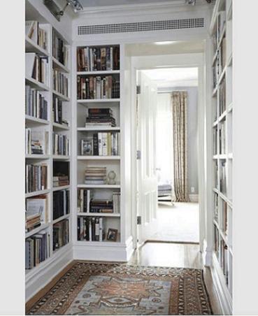 Libreria classica angolare bianca fabbrichiamo su misura for Librerie bianche